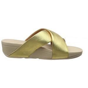 NWOB Fitflop Lulu Cross Slide Sandals size…